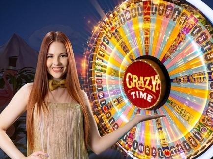 crazy-time-evolution-gaming logo