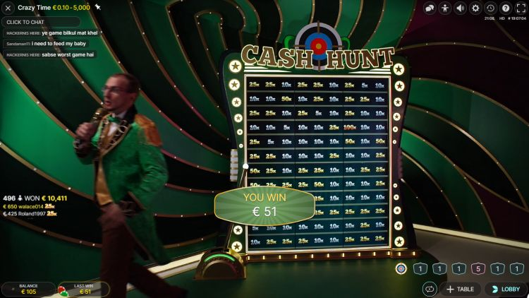 crazy-time-evolution-gaming-review-bonus-cash-hunt