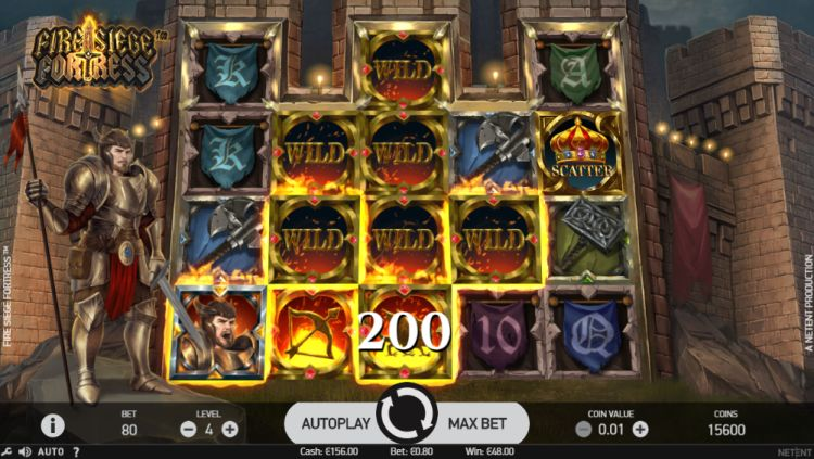 fire-siege-fortress-slot-review-netent-wilds-big-win