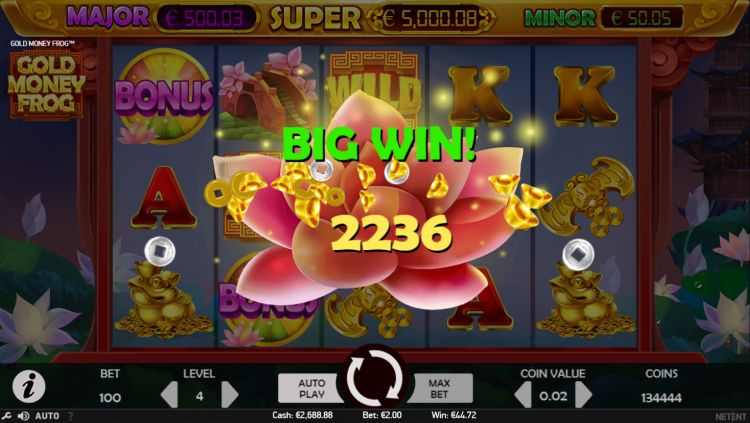 gold-money-frog-netent-slot-review-big-win