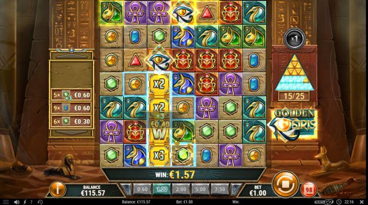 golden osiris slot play n go review