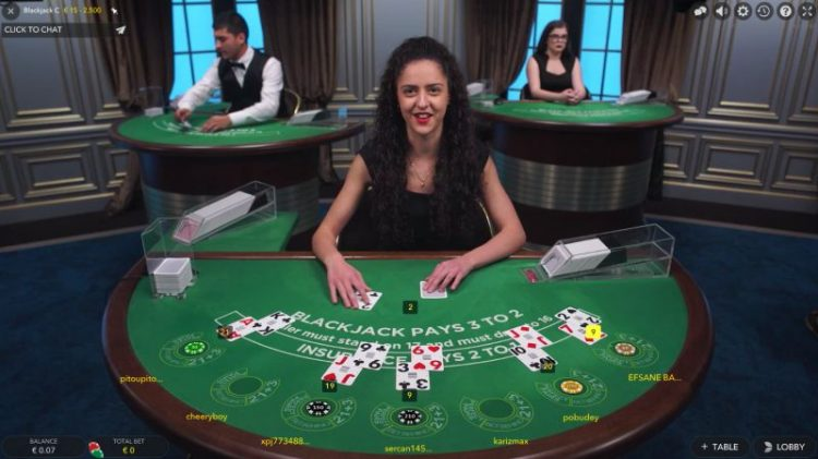 live dealer casino games blackjack