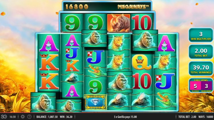 raging-rhino-megaways-review WMS bonus win 2