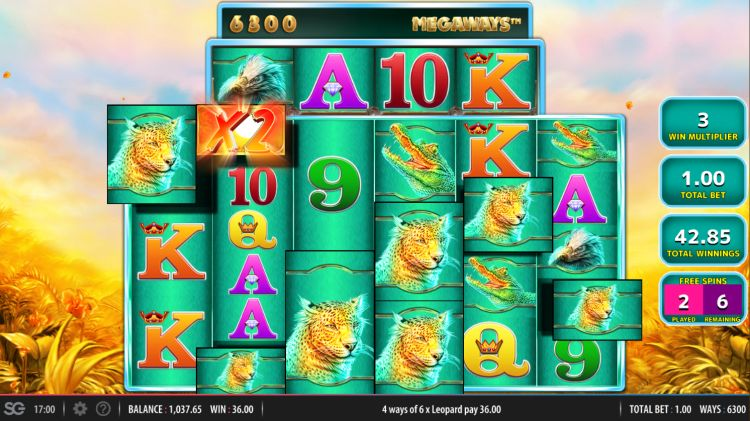 raging-rhino-megaways-review WMS bonus win 3