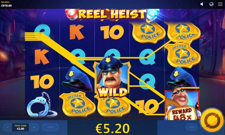 reel-heist red tiger gaming win bonus feature