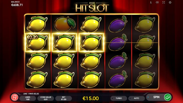 2020 hit slot endorphina review win