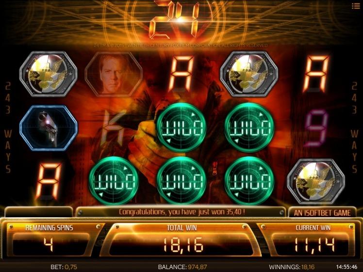24 slot free spins bonus big win
