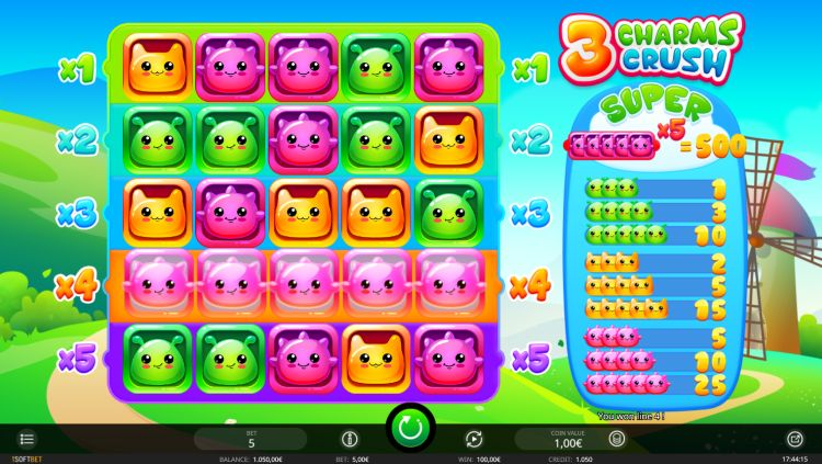 3-charms-crush-review isoftbet big win