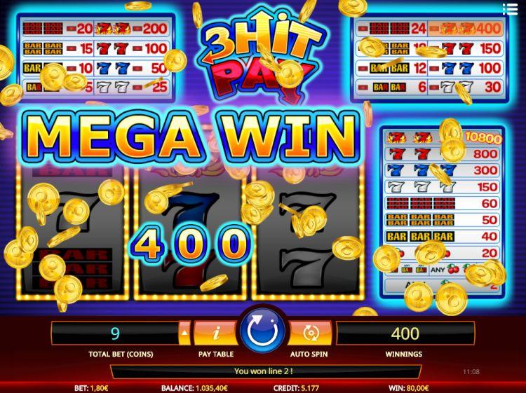 3 hit pay isoftbet big win