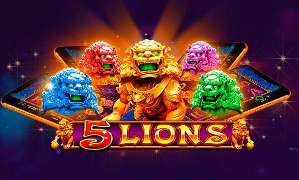 5-Lions-pragmatic play