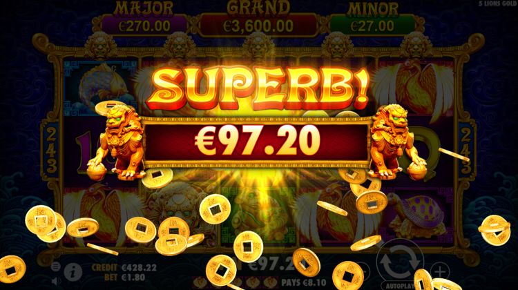 5-lions-gold-slot-review-pragmatic-play-jackpot-mega-win