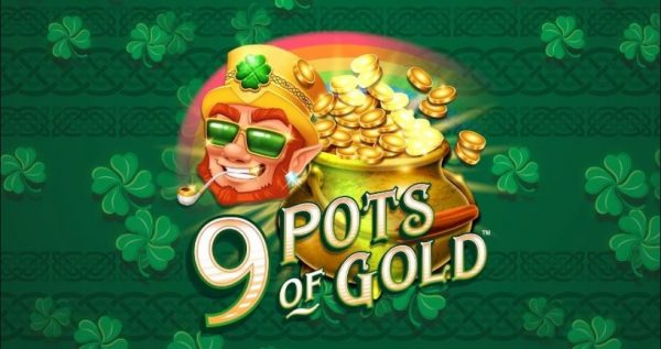 9 pots of gold slot review logo