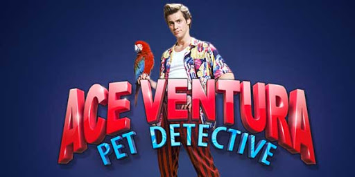 Ace Ventura slot playtech logo