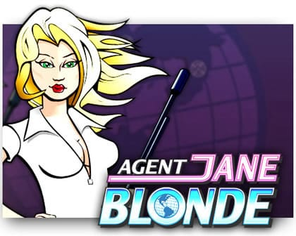Agent Jane Blonde slot microgaming