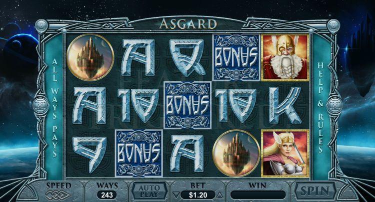 Asgard pokie review bonus trigger