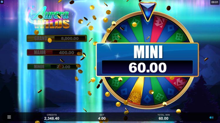 Aurora Wilds slot review Microgaming wheel bonus