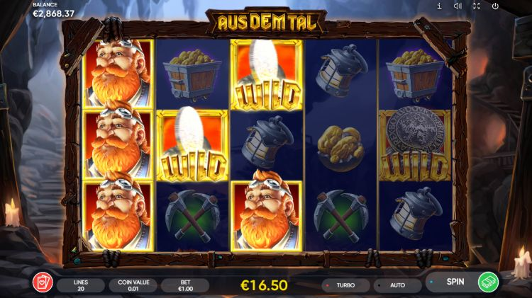 Aus dem tal slot review endorphina