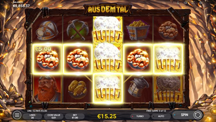 Aus dem tal slot review free spins