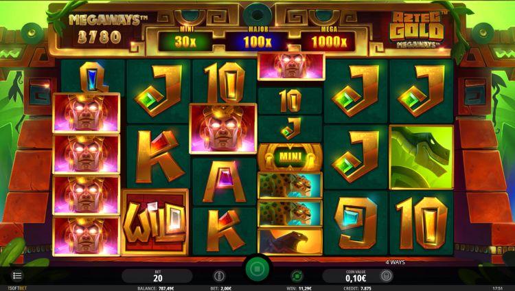 Aztec Gold Megaways slot review big win