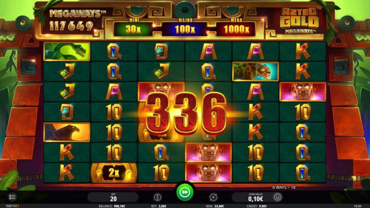 Aztec Gold Megaways slot review win