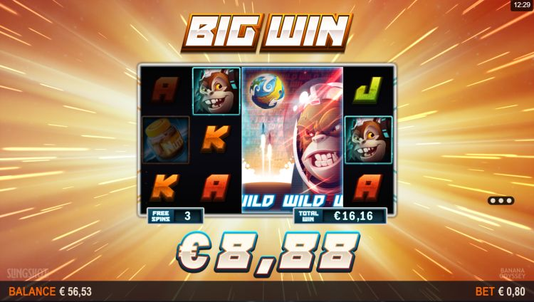 Banana odyssey slot microgaming big win