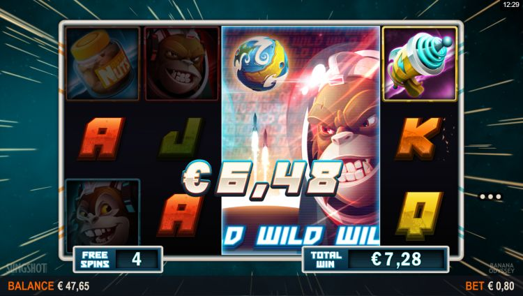 Banana odyssey slot microgaming win