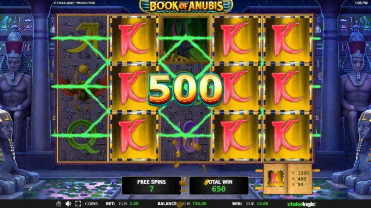 Book Of Anubis slot Stakelogic bonus