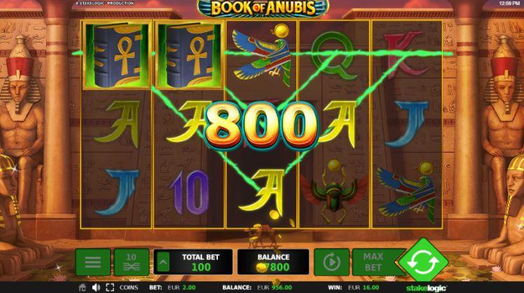 Book Of Anubis slot Stakelogic win