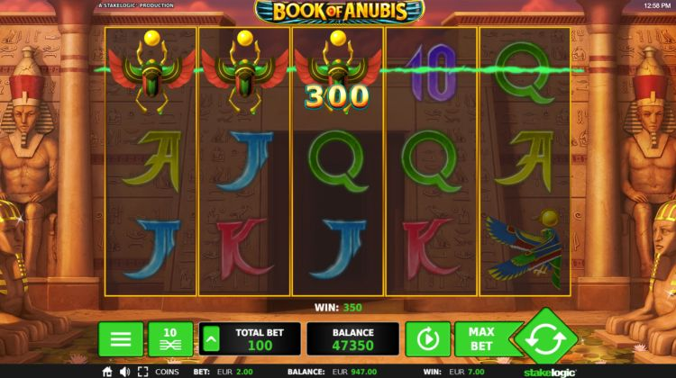 Book Of Anubis slot Stakelogic