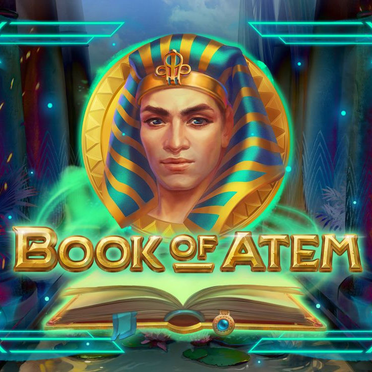 Book of Atem slot review microgaming logo