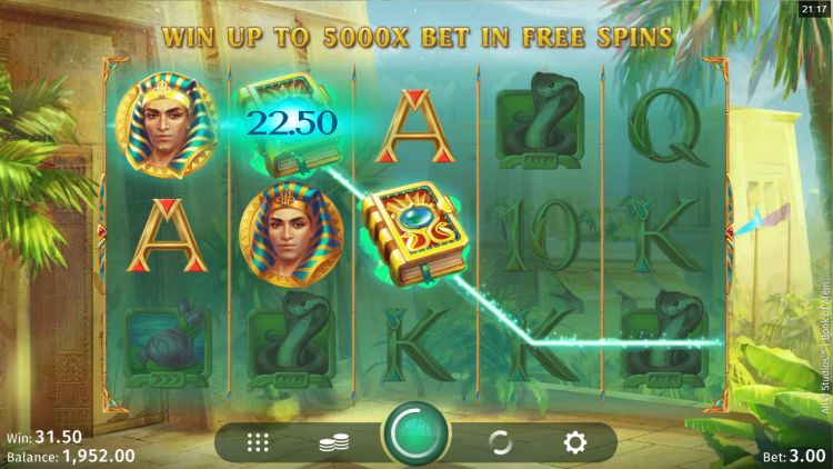 Book of Atem slot review win