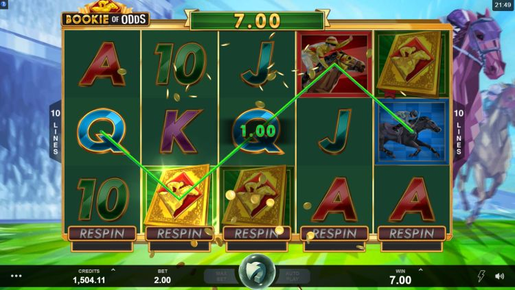 Bookie of odds slot review Microgaming trigger