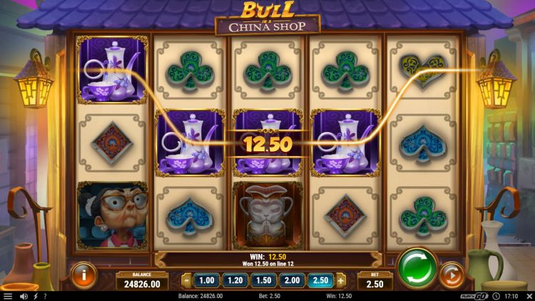 Bull in a china shop slot play n go