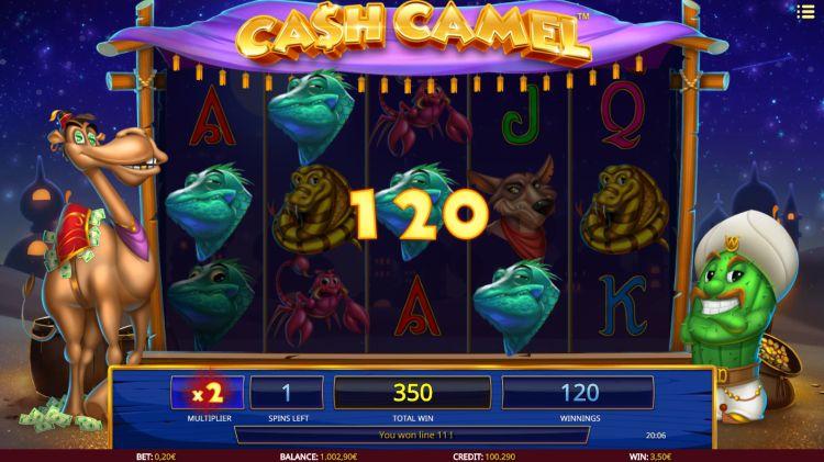 Cash Camel review isoftbet bonus