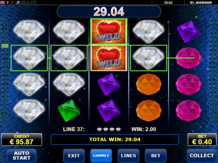 Diamonds on fire slot review big win