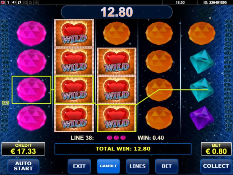 Diamonds on fire slot review win