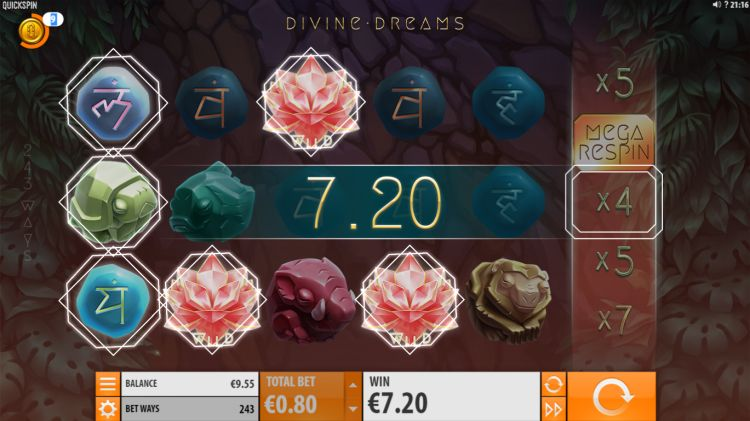 Divine Dreams Quickspin slot review