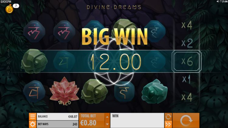 Divine Dreams Quickspin