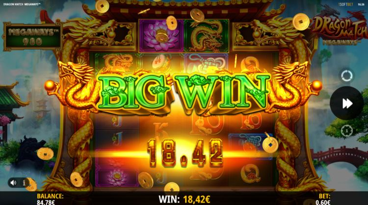 Dragon match megaways slot review isoftbet