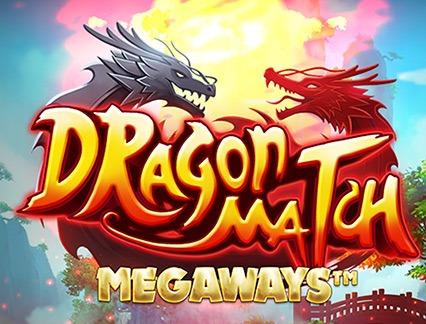 Dragon match megaways slot review logo