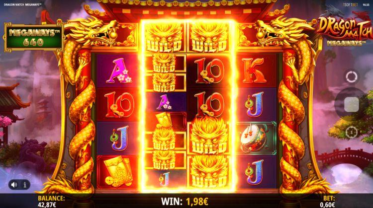 Dragon match megaways slot review win