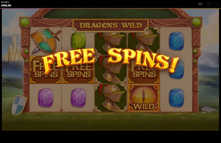 Dragons wild slot review free spins trigger