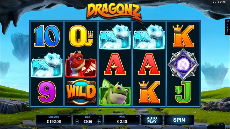 Dragonz slot microgaming review