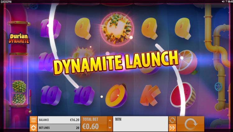 Durian Dynamite Quickspin slot review