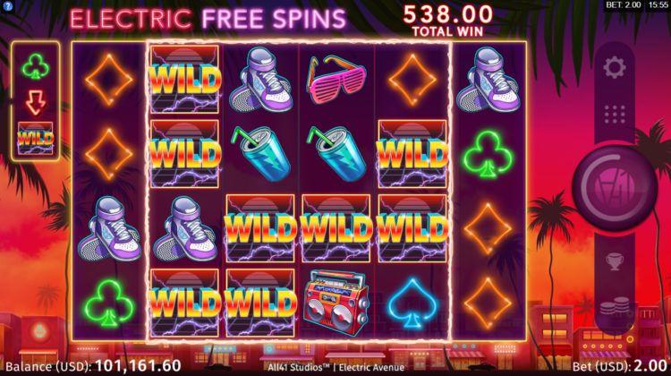 Electric avenue slot review microgaming bonus win