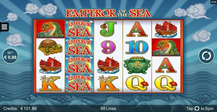 Emperor of the Sea microgaming