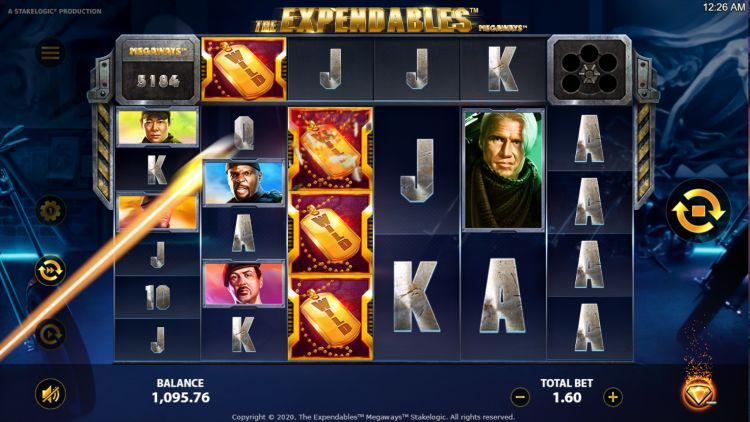 Expendables megaways slot review stakelogic