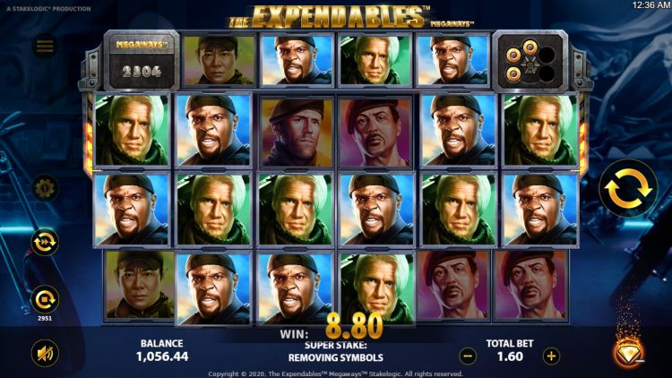 Expendables megaways slot stakelogic
