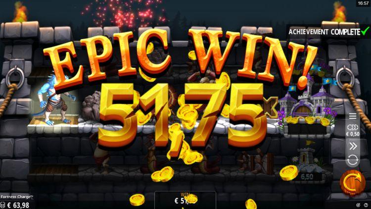 Fortress charge slot big win