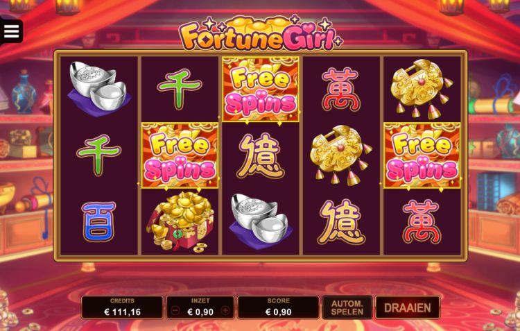 Fortune Girl microgaming bonus trigger